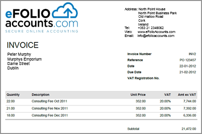 Invoices with your logo